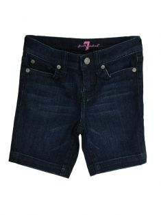 Bermuda Seven for All Mankind Azul Jeans Infantil