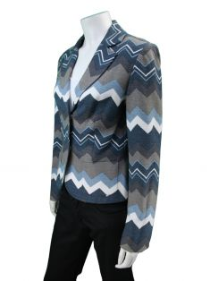 Blazer Mixed Multicolor Estampado
