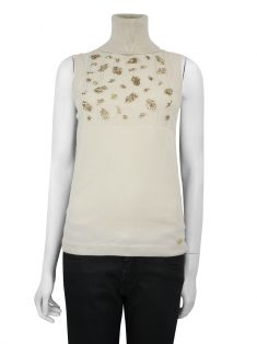 Blusa Chanel Cashmere Nude
