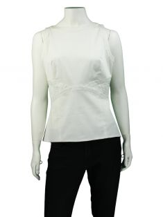 Blusa Christian Dior Off White