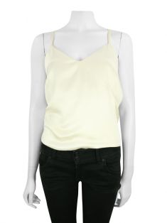 Blusa Christian Dior Seda Off White