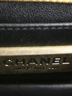 Bolsa Chanel Boy Mini Galuchat Stingray