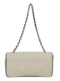 Bolsa Chanel East West Creme