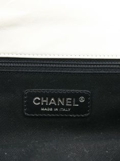 Bolsa Chanel East West Off-White