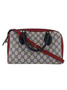 Bolsa Gucci Boston GG Canvas
