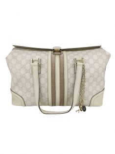 Bolsa Gucci Treasure Boston Off White