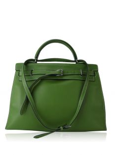 9744146dfdb Bolsa Hermès Swift Kelly Flat Verde Original - CBQ5