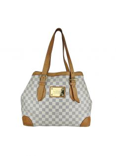 Bolsa Louis Vuitton Hampstead Damier Azur