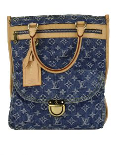 Bolsa Louis Vuitton Sac Plat Denim