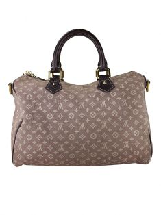 Bolsa Louis Vuitton Speedy 30 Mini Lin Sepia