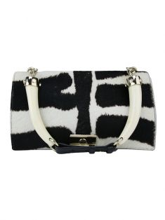 Bolsa Yves Saint Laurent Cavalino Animal Print