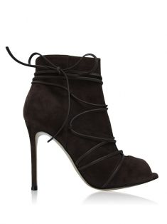 Ankle Boot Gianvitto Rossi Camurça Café