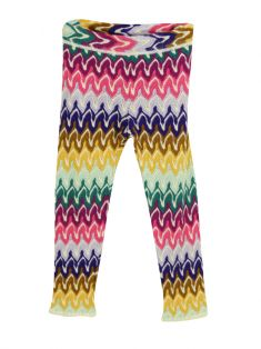 Calça Missoni Colorida Infantil