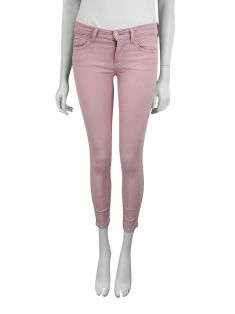 Calça Seven For All Mankind The Cropped Skinny Rosa