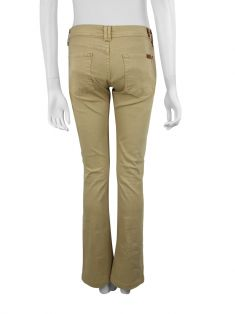 Calça Seven For All Mankind Flare Bege