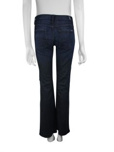 Calça Seven For All Mankind Mid Rise Bootcut Jeans