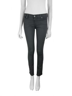 Calça Seven For All Mankind The Skinny Cinza