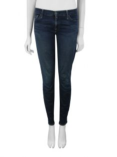Calça Seven For All Mankind The Skinny Azul