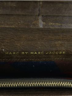 Carteira Marc by Marc Jacobs Couro Marrom
