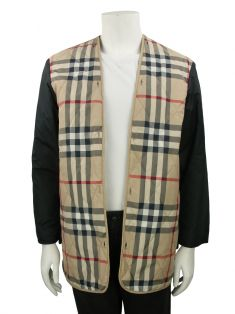 Casaco Burberry London Preto Masculino