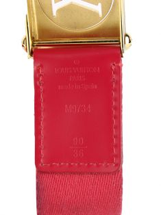 Cinto Louis Vuitton Surplus Rosa