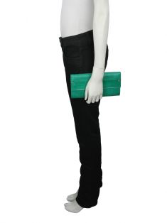 Clutch Tory Burch Decoy Verde
