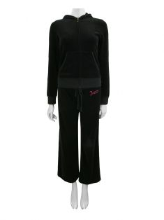 Conjunto Juicy Couture Plush Preto