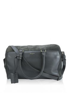 Bolsa Yves Saint Laurent Duffle Bag Cinza