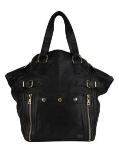 Bolsa Yves Saint Laurent Large Downtown Tote Marrom