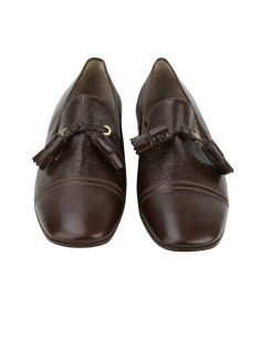 Loafer Louis Vuitton Couro Marrom
