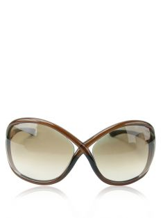 Óculos Tom Ford Acetato Marrom Whitney
