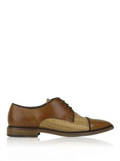 Oxford Christian Louboutin Derby Caramelo