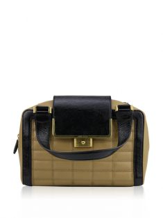 Bolsa Jimmy Choo Quilted Soft Box Bege