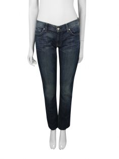 Calça Seven For All Mankind Azul Roxanne