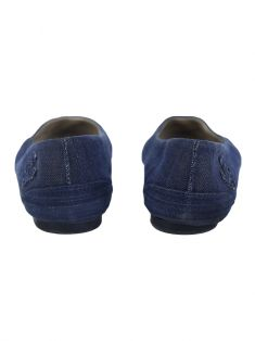 Sapatilha Chanel CC Denim Cap Toe