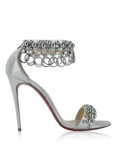 Sapato Christian Louboutin Gypsandal Off White