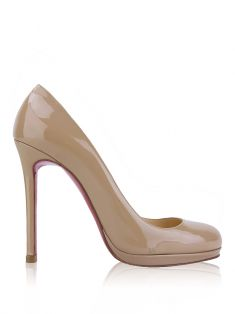 Sapato Christian Louboutin Simple Pump Nude