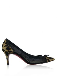 Sapato Christian Louboutin Souris 70mm Animal Print