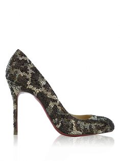 Sapato Christian Louboutin Strass New Simple Pumps
