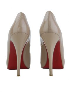 Sapato Christian Louboutin Very Prive Nude