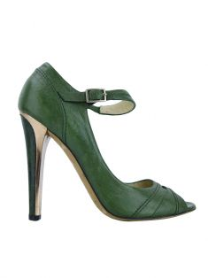 Sapato Jimmy Choo Couro Verde