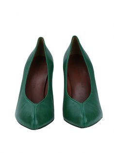 Sapato Marc by Marc Jacobs Couro Verde