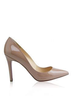 Scarpin Christian Louboutin Pigalle Nude