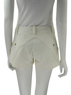 Shorts Amici Per Amici Curto Off White