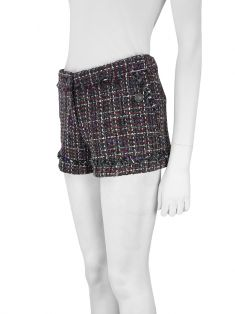 Shorts Mixed Tweed Multicolor