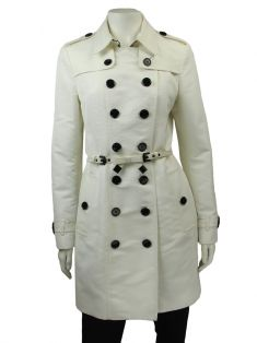 Trench Coat Burberry Off White