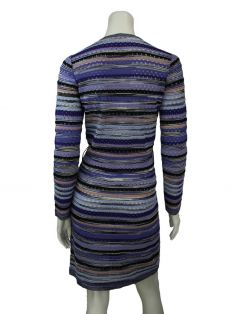 Vestido Missoni Envelope Multicor