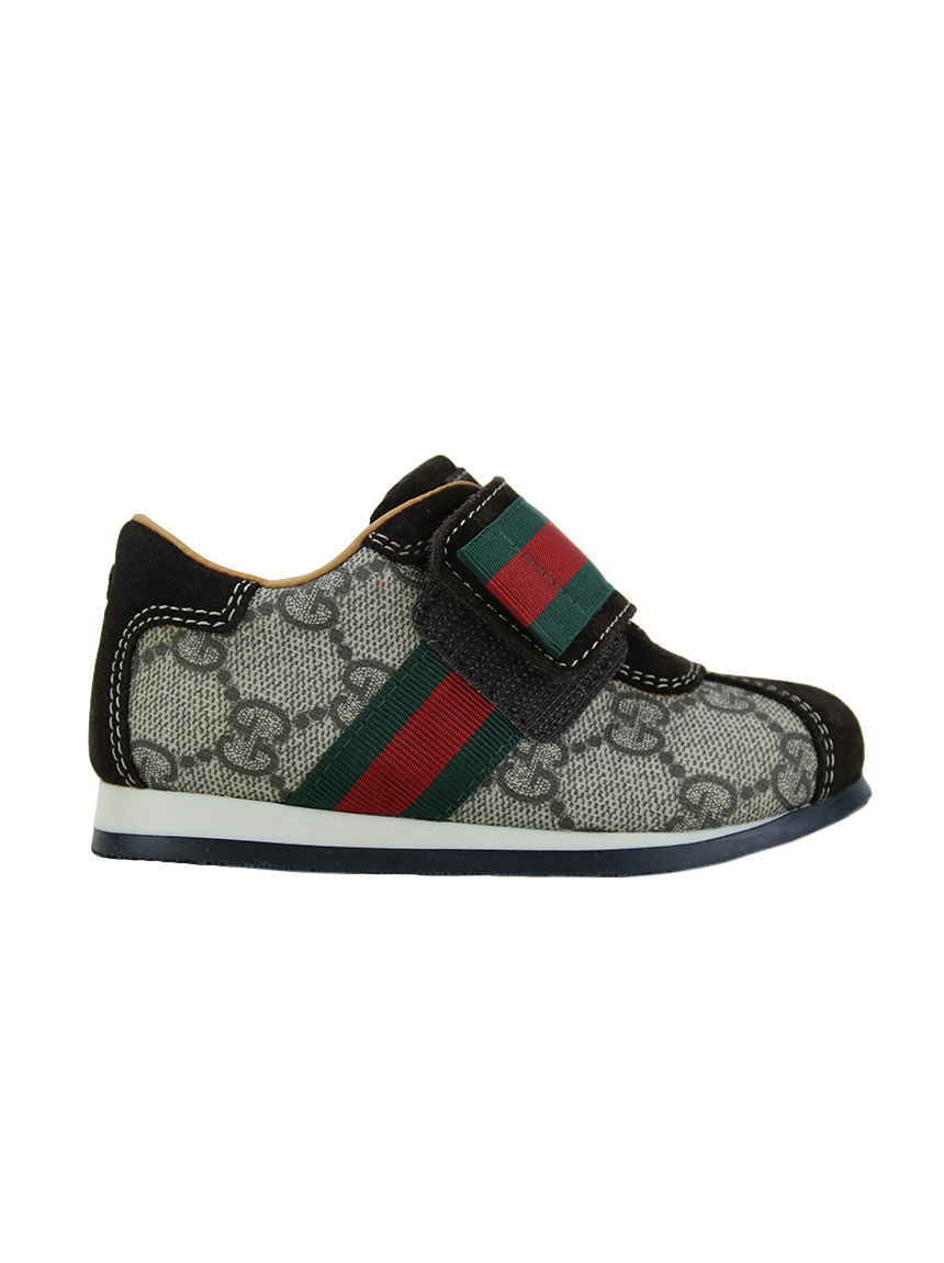1f79d89e81 Tênis Gucci Canvas GG Canvas Infantil Original - FMC85